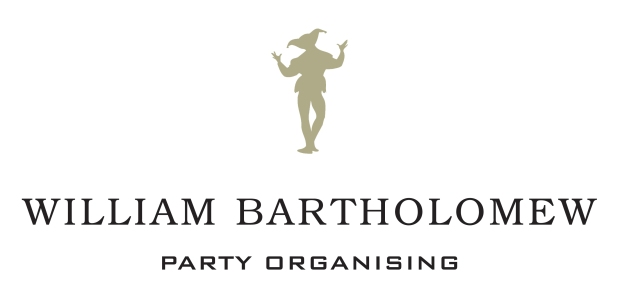 William Bartholomew Party Organising Logo